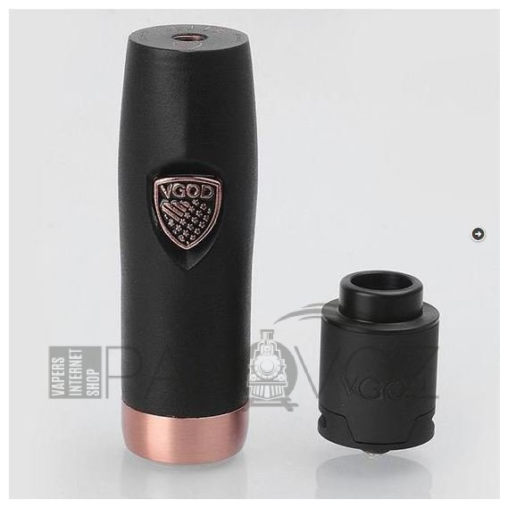 Мехмод VGOD Elite Mech RDA Kit Black (High copy)