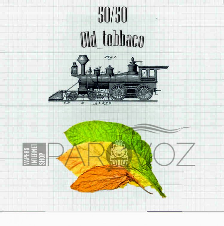 Жидкость PAROVOZ - Old_tobbaco (120 ml.)