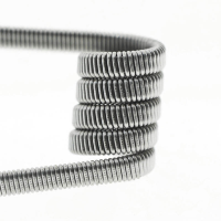 Спираль Flat Fused clapton (на плоском кантале)