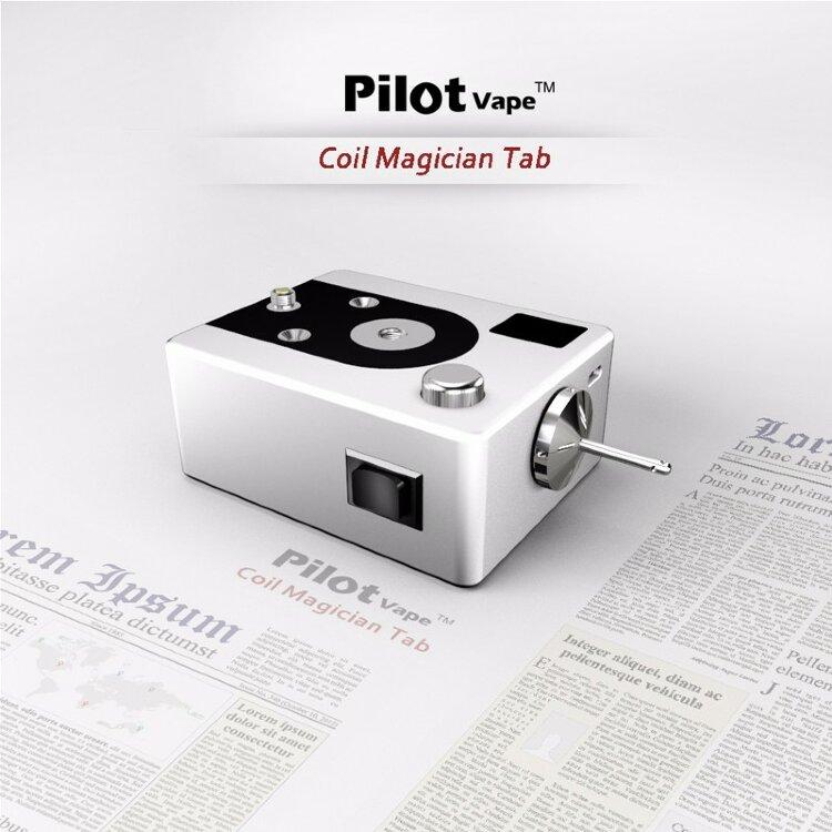 Мини-станция для обслуживания Pilot Vape Coil Magician Tab Version 2 Б/У