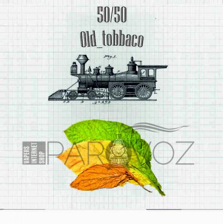 Жидкость PAROVOZ - Old_tobbaco (60 ml.)