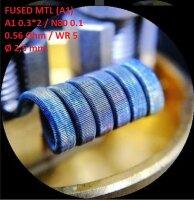 Спираль HM Fused MTL - A1 (2 шт. - пара)