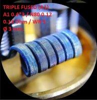Спираль HM Triple fused - A1 (2 шт. - пара)