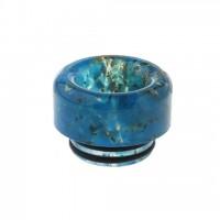 Дрип тип (Drip Tip) 810 Gold Foil Hybrid BLUE