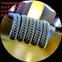 Спираль HM Straggered - SS (2 шт. - пара)