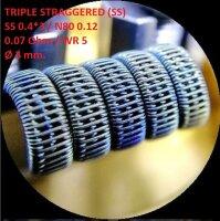 Спираль HM Triple staggered - SS (2 шт. - пара)