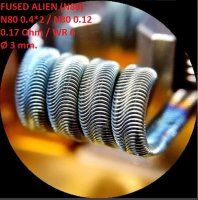 Спираль HM Fused Alien - Ni80 (2 шт. - пара)