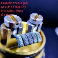 Спираль HM Framed Staple - A1 (2 шт. - пара)
