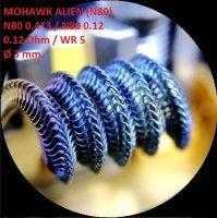 Спираль HM Mohawk Alien - Ni80 (2 шт. - пара)