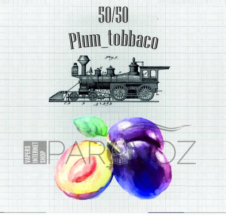 Жидкость PAROVOZ - Plum_tobbaco (120 ml.)
